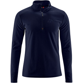 Maier Sports Dennis Fleece Midlayer Men, night sky